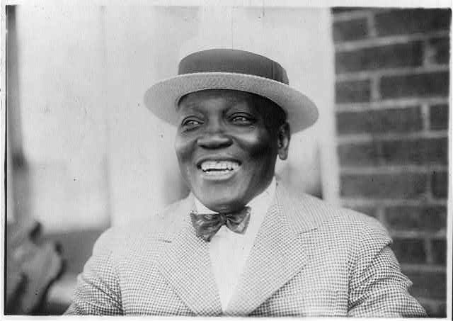 Jack Johnson, thanks to the Library of Congress