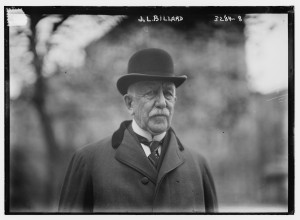Businessman John L. Billard. 1914. George Bantham Bain Collection, Library of Congress Print and Photograph Divisison