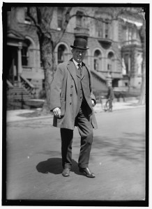 Louis Brandeis, between 1915 and 1917. Harris & Ewing collection, Library of Congress Prints and Photo Division