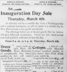 Daily Morning Journal and Courier, March 4, 1897, p. 8.