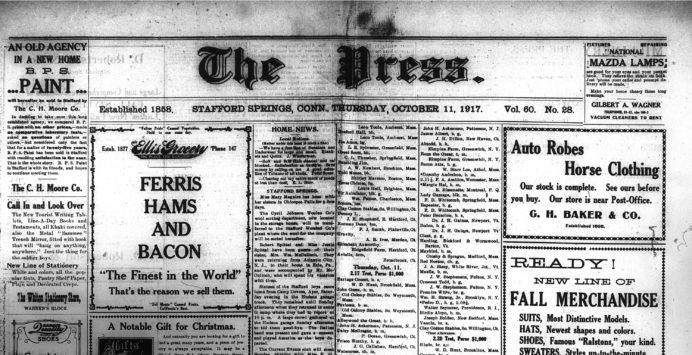 Connecticut Digital Newspaper Project – Preserving Connecticut's History