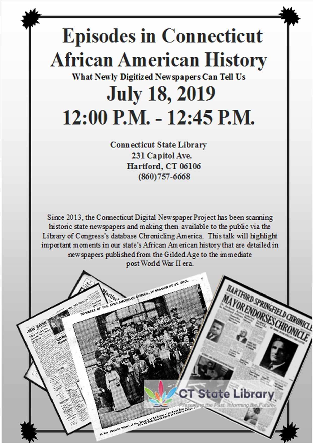 Connecticut Digital Newspaper Project – Preserving